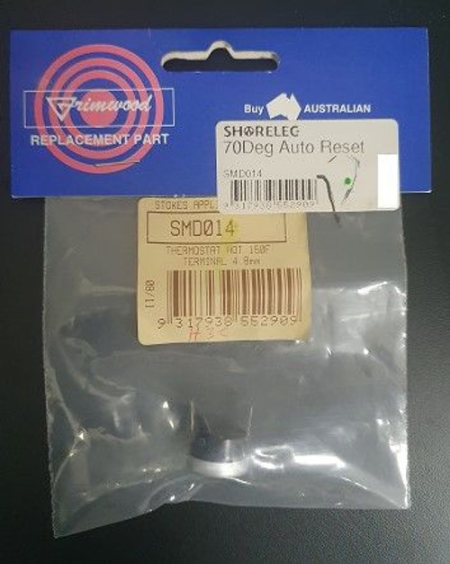 Thermostat Hot 150F Terminal 4.8Mm