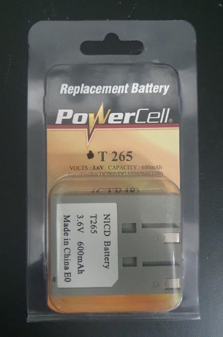 Nicd Battery T265 3.6V 600Mah