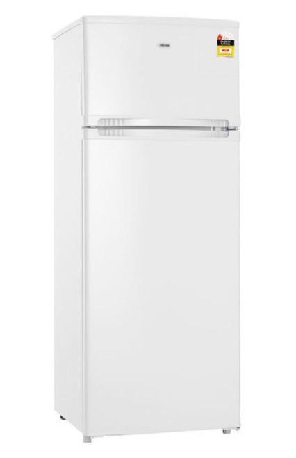 Heller White 206L 2 Door Refrigerator