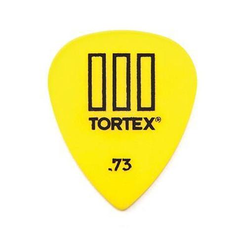.73 Tortex T3 Pick Yellow Sharp Dunlop