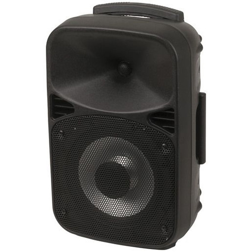8 Inch Rechargeable Pa Speaker With Bluetooth(R) Technology