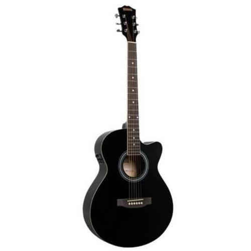 Redding Rgc51Ce Grand Concert Size Acoustic Guitar In Black
