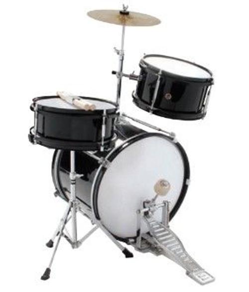 Dxp-Junior Series 3 Piece Drum Outfit Metallic Blue