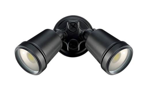 Hunter-III 22W Led Twin Spotlight Black / Cool White - Brilliant Lighting