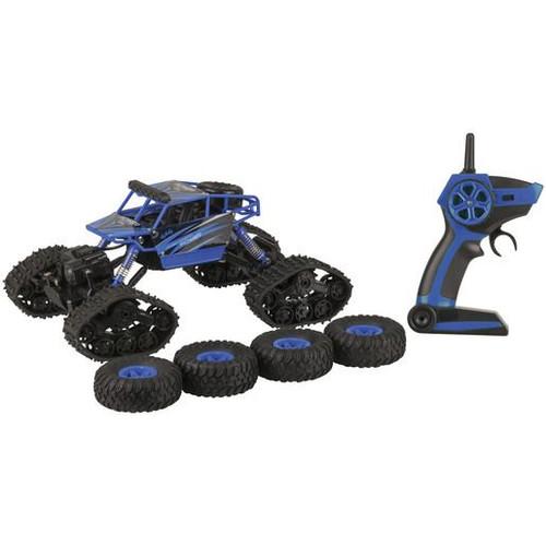 1:18 R/C 2-In-1 Rock & Dirt Crawler