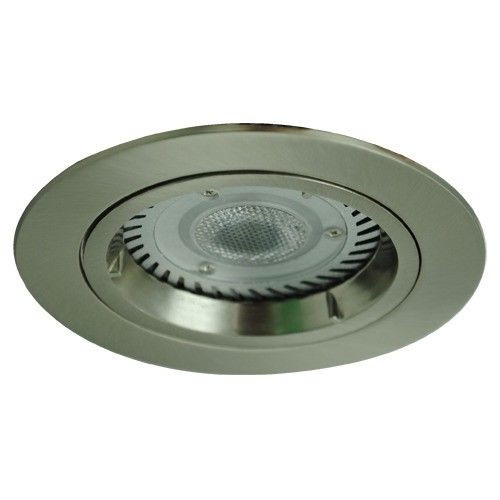 Mains Voltage 240V Gu10 Fixed Downlight With Flex And Plug In Satin Chrome Vibe Lighting