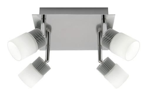 Haddin2 4X6W Led Spotlight Plate