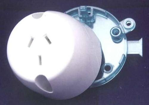 Single Surface Socket 10Amp