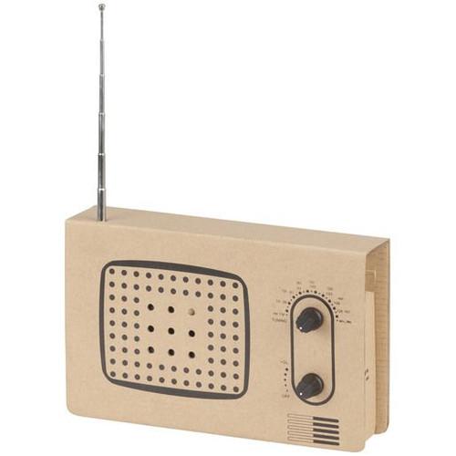 Cardboard Radio Construction Kit