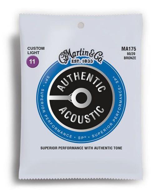 Martin Bronze Custom Light 11-52 Acoustic Guitar Strings