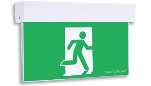 Wall Or Ceiling Mounted Blade Style LED Emergency Exit Light