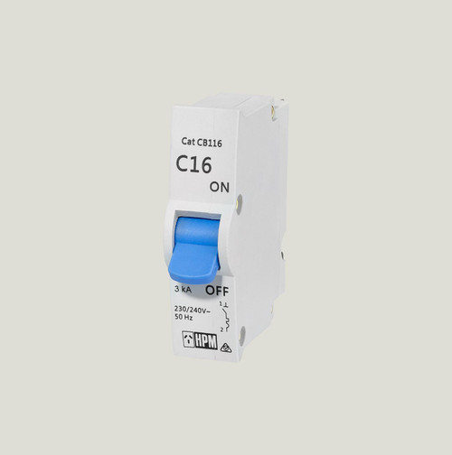 16A Plug-In Circuit Breaker For Power Circuits - HPM