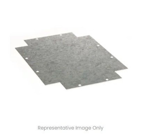 Mounting Plate Galvanised 240X190