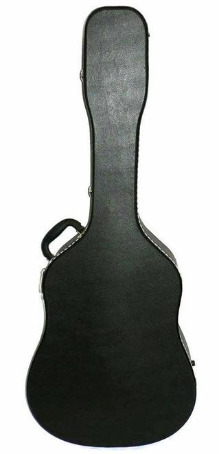 MBT Wooden Dreadnought Acoustic Guitar Case In Black