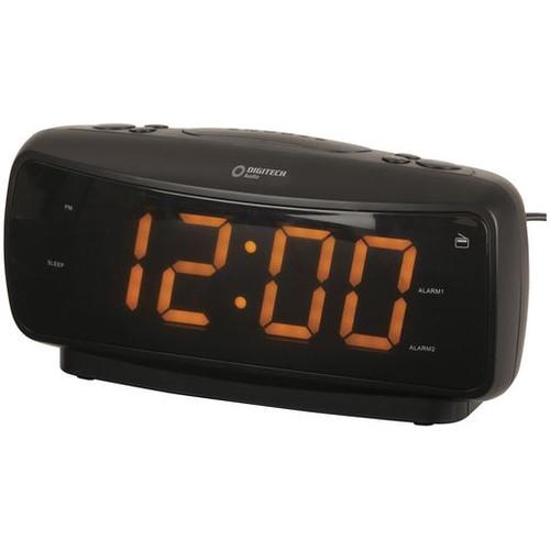 Large-Digit Alarm Clock With Am/Fm Radio