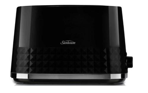 Sunbeam Ta1900K Diamond Collection 2 Slice Toaster (Black)