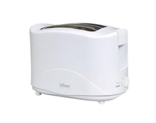Tiffany 2 Slice White Toaster
