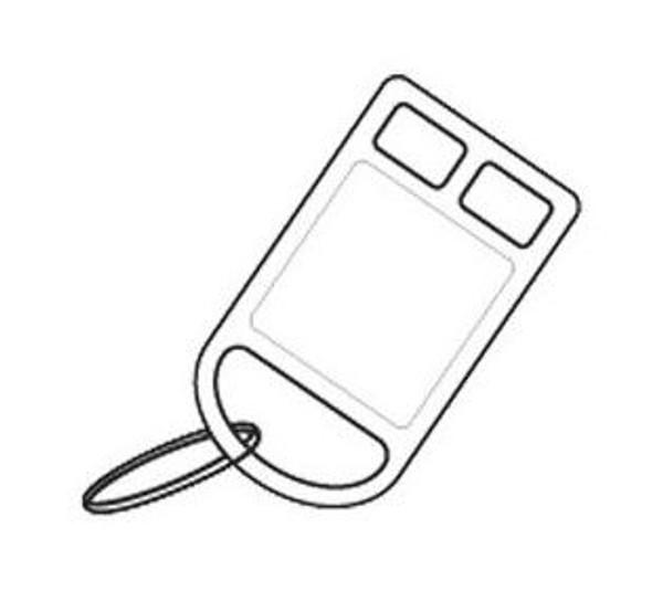 526Kc Key Card, 1 Pole, Suit 626N Key-Tag Switch, White