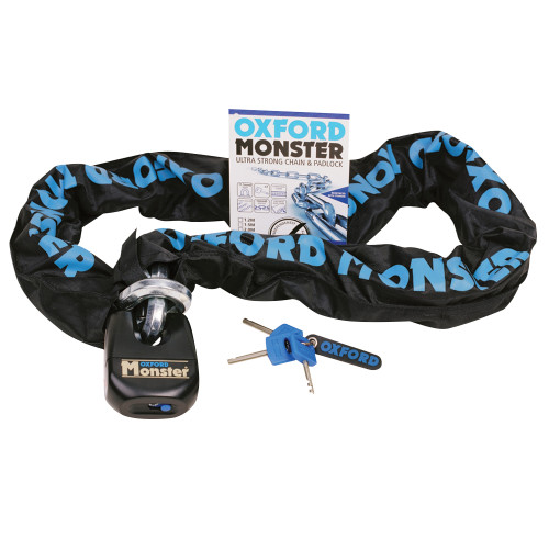 Monster 14mm Hex Chain & Padlock Close Out