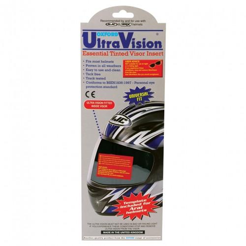 Ultra Vision Black Tinted Shield