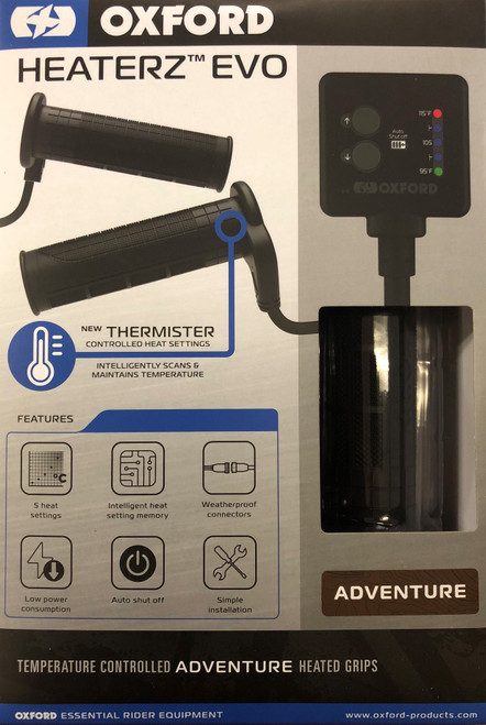 Heaterz EVO - Adventure Heated Grips