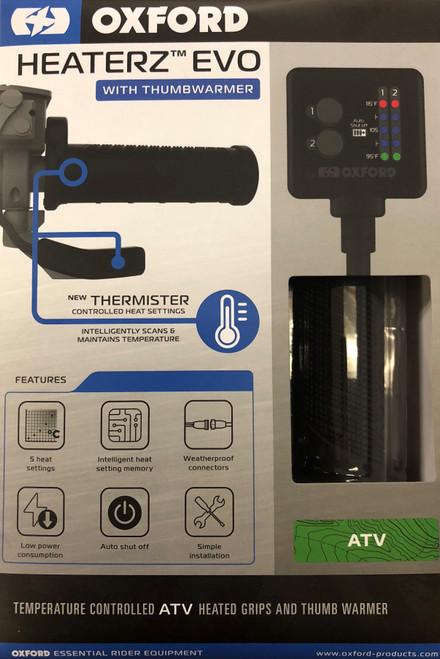 Heaterz EVO - ATV Heated Grips with Thumbwarmer