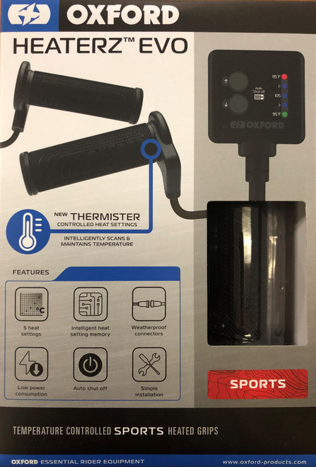 Heaterz EVO - Sports Heated Grips
