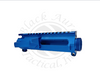 Blue Anodized Billet AR-15 A3 Upper Receiver With M4 Feed Ramps