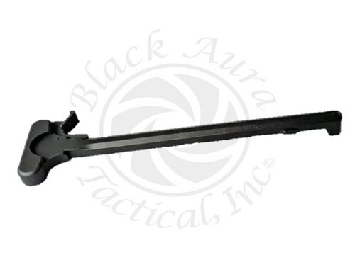 Billet AR-10 LR .308 Charging Handle With Extended Latch (Black)