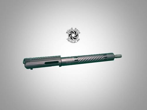 "AR-10/LR308 16"" Slick Side Upper Assembly"
