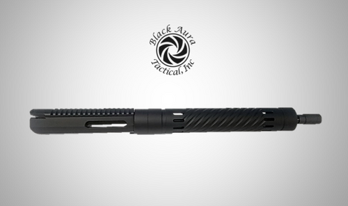 """AR-10/LR30816""""Billet Slick Side w/15""""Spiral Pattern Handguard Upper Assembly"""
