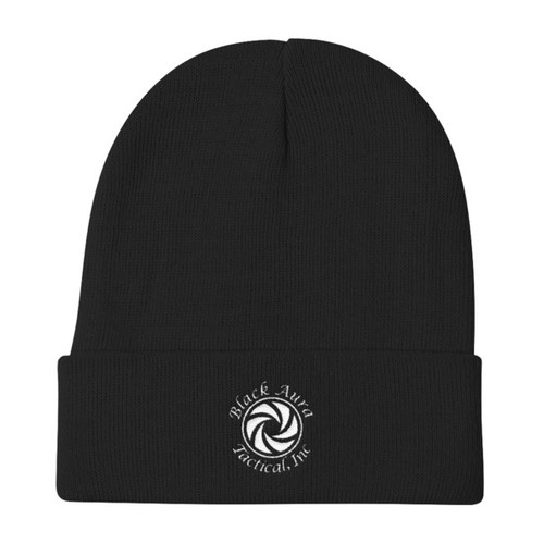 Black Aura Tactical Beanie