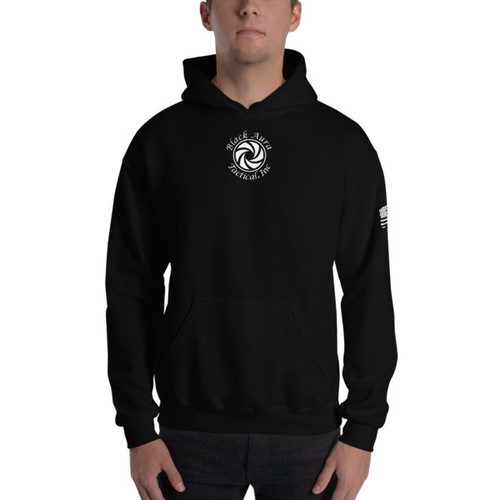 Black Aura Tactical Hoodie