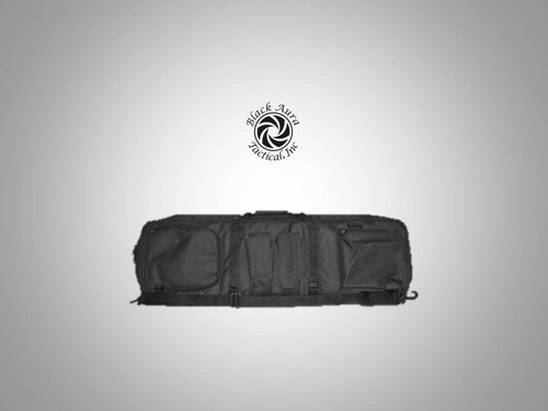 "Black Aura Tactical's Double Rifle Gun Case (Padded 35"")"