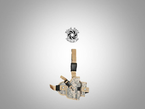 Digital Camo Tactical Pistol Leg Holster