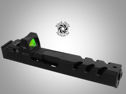 Black Aura's Glock 17 Slide & Barrel Kit-9mm