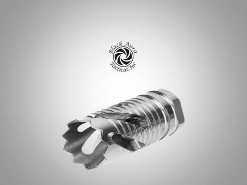 "Black Aura's Stainless Threaded Crown Brake 5/8"" X 24"
