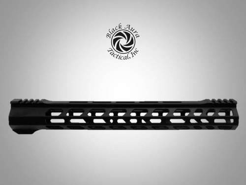 "Black Aura's 15"" Elite Series M-Lok  Handguard"