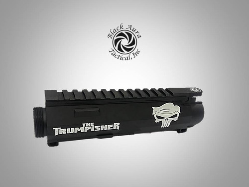 "Black Aura's Limited Edition ""The Trumpisher"" Upper Receiver"