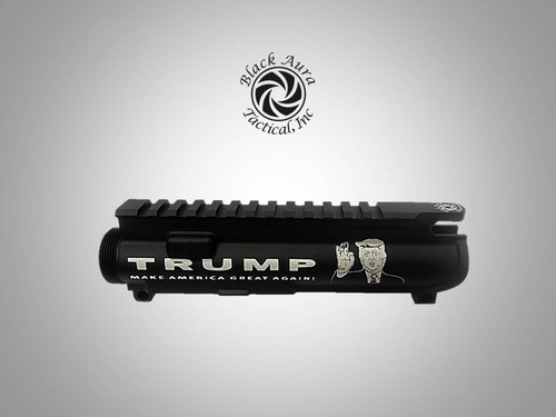 "Black Aura's Limited Edition ""MAGA""  Upper Receiver"