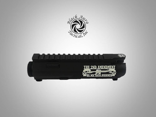 "Black Aura's Limited Edition ""2A"" Upper Receiver"