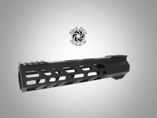 "Black Aura's 10"" Elite Series M-Lok  Handguard"