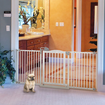 Wide One-Touch Pet Gate II