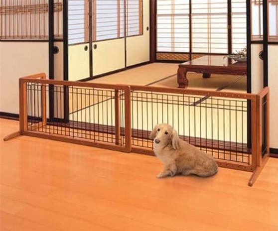 Large Free Standing Pet Gate