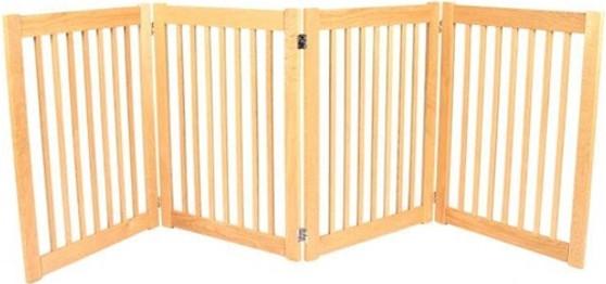 Legacy Series Outdoor-Indoor 4-Panel Free Standing Gate
