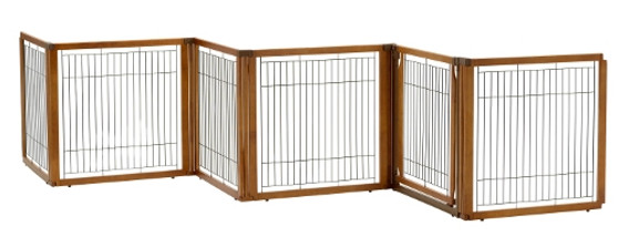 Richell Convertible Elite H6 Panel Pet Gate