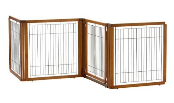 Richell Convertible Elite H4 Panel Pet Gate
