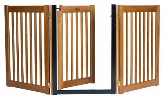 HighLander Series 3-Panel Free Standing Walk-Through EZ Gate