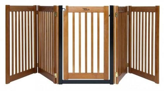 HighLander Series 5-Panel Free Standing Walk-Through EZ Gate