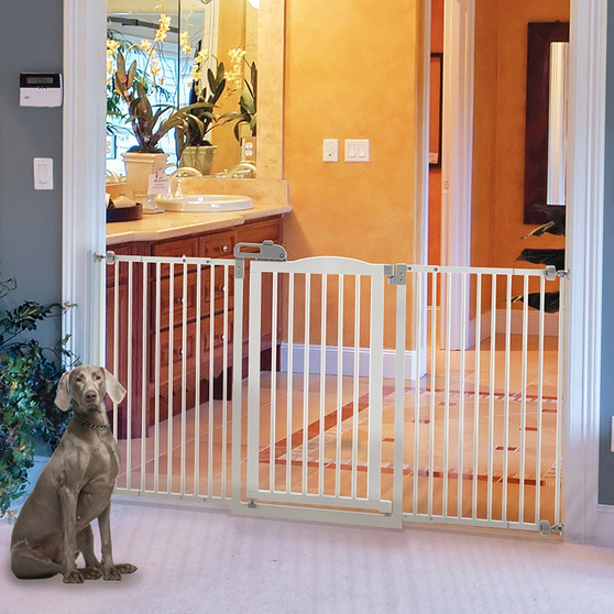 Tall Wide One-Touch Pet Gate II